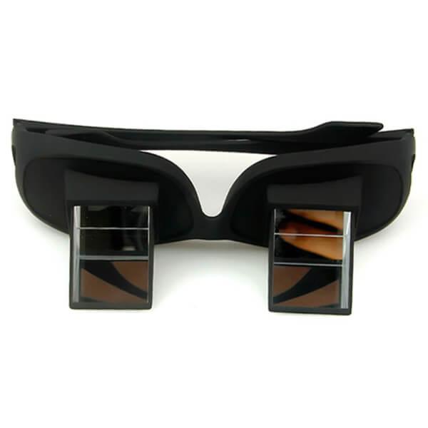 tv brille mit prisma liegend fernsehen. Black Bedroom Furniture Sets. Home Design Ideas